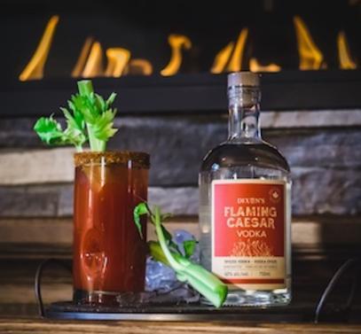 Flaming Caesar
