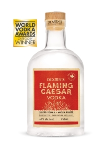 flaming caesar vodka