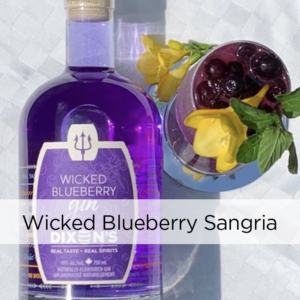Wicked Blueberry Sangria