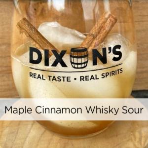 Maple Cinnamon Whisky Sour