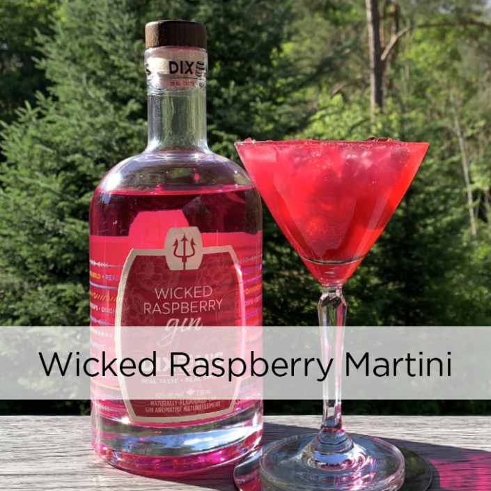 Wicked Raspberry Martini